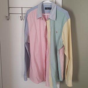 Polo oxford shirt